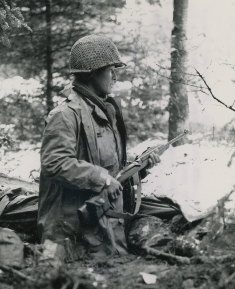442nd RCT Inf Regt Nisei M1 Carbine St Die France  111344 (1 of 1)