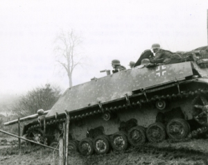 A Jagdpanzer IV on the move.