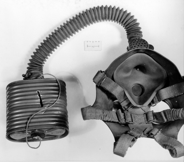 Captured Japanese Gas Mask Attu 510