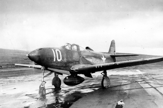The 54th Fighter Group later deployed to the Aleutians and flew missions against Japanese-held Kiska in the fall of 1942.