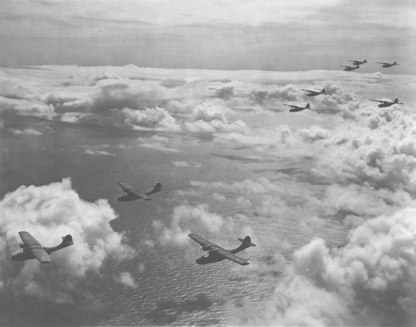 PBY squadron formation