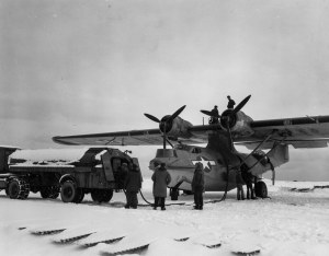 11th AF FAW4  PBY Catalina  Amchitka Island Aleutians 120743 (1 of 1)