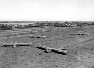 11th airborne division airborne assault on aparri field 1945948 5x7
