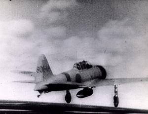 JS 9C a6m Zero  taking off pearl harbor