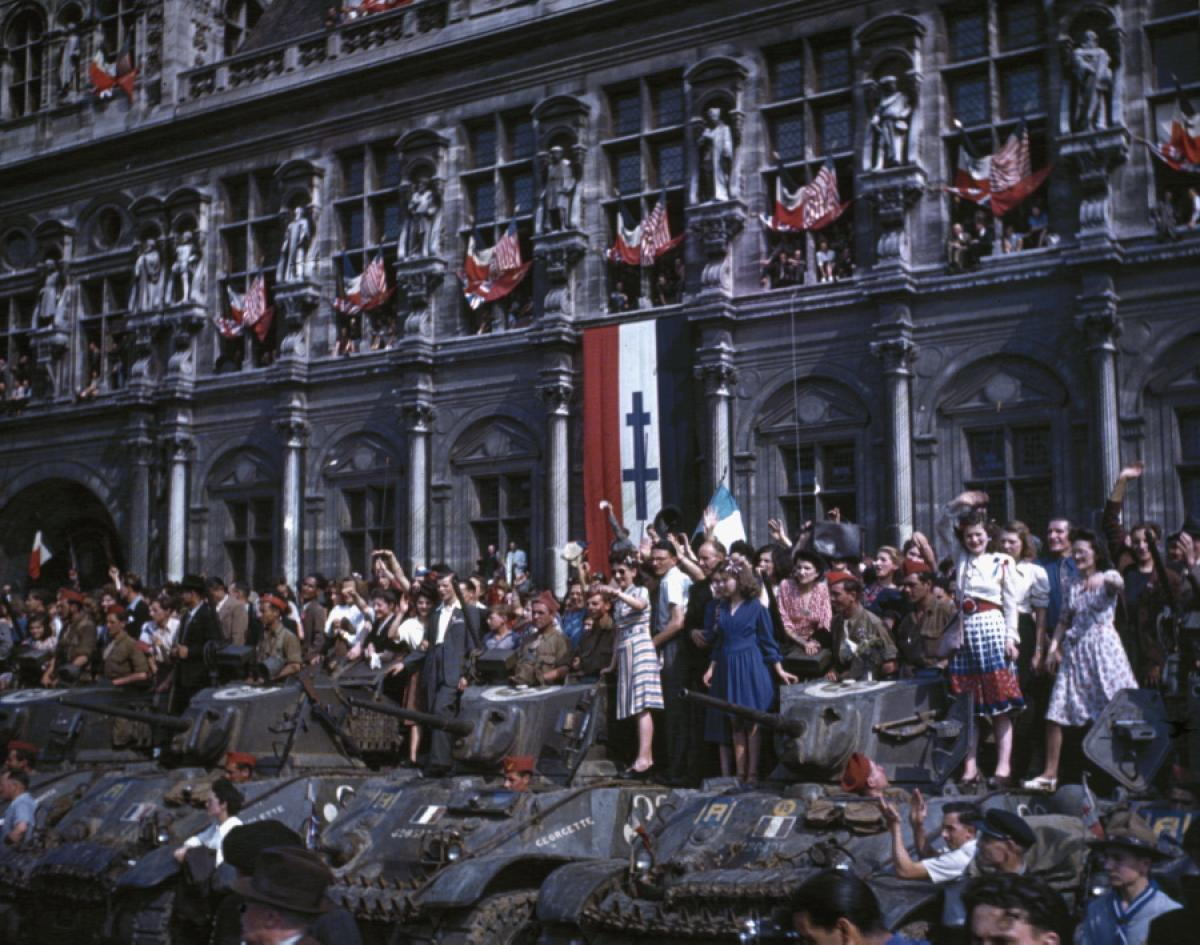 How involved was france in the 2nd world war?