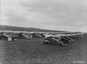WWI Series Aviation USAS Nieuport 17 training unit France no date (1 of 1)