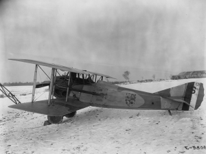 WWI Series USAAS Spad XIII with multiple sqn emblems 1918 (1 of 1)