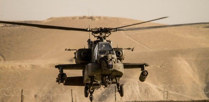 TF Brawler AH-64 Apache, FOB Shank, 2010.