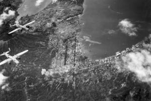 5th af b25 raid rabaul mar 5 44 4x6