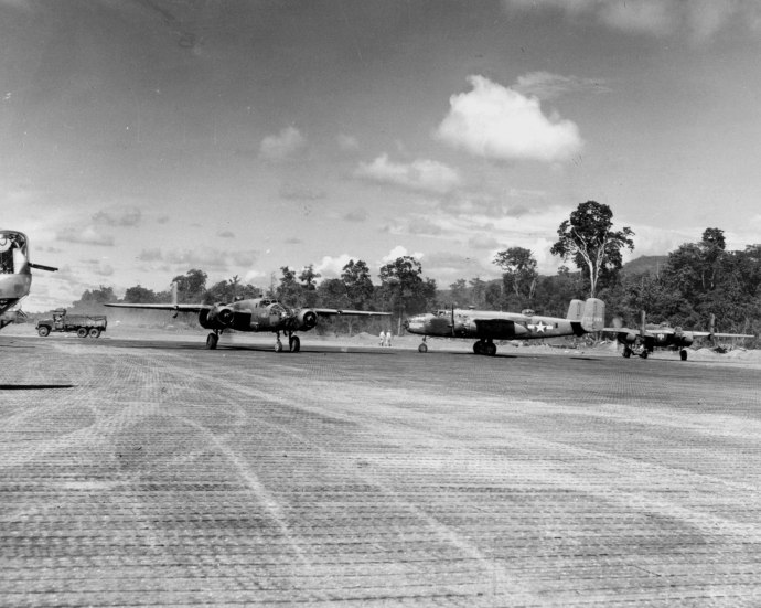 b25s 42nd bg munda Field 1943 8x10