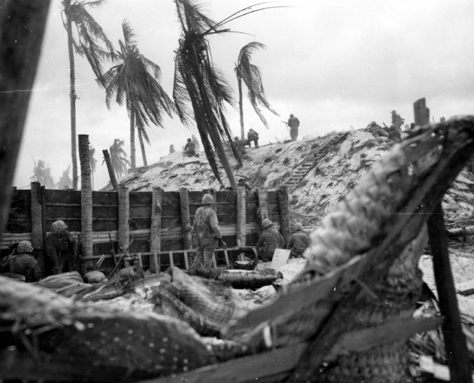bonnymans assault at tarawa