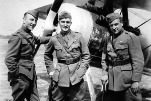 94th aero sqn eddie rickenbacker and two other pilots030 4x6