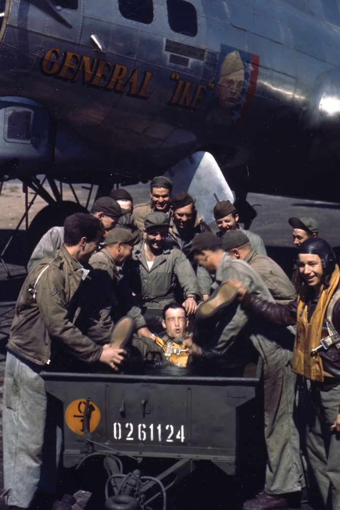 b17 general ike color usaaf 4x6