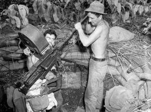 41st Inf Div 218th FA Bn M2 50 Cal AA Tambu Bay New Guinea 081943 (1 of 1)