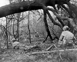hurtgen forest us troops fighting 1944351 8x10
