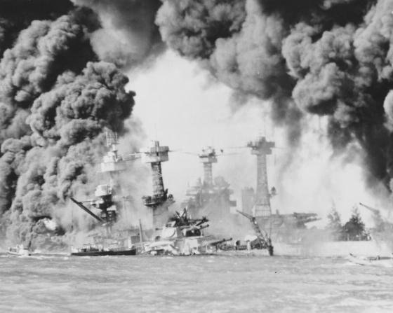 js-9d-battleship-row-pearl-harbor-aflame