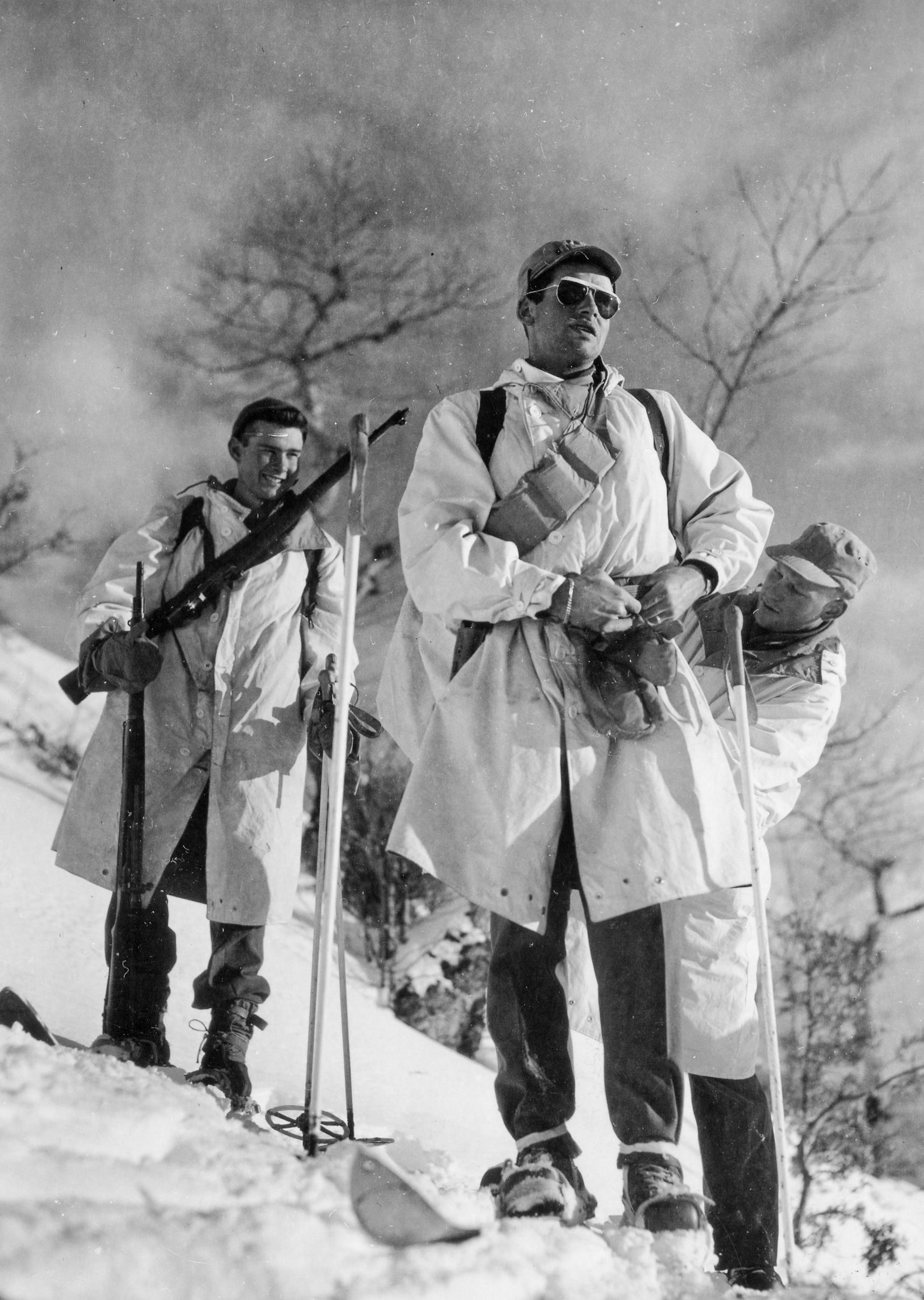 10th Mountain 86th Mount Inf Reg I&R Plt Ski Troops Spigvana Italy 012145 (1 of 1)