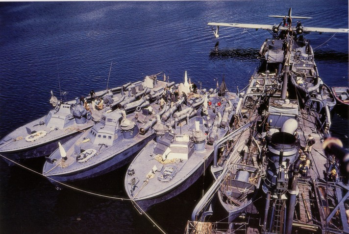 color Gillis and PT boats PBY