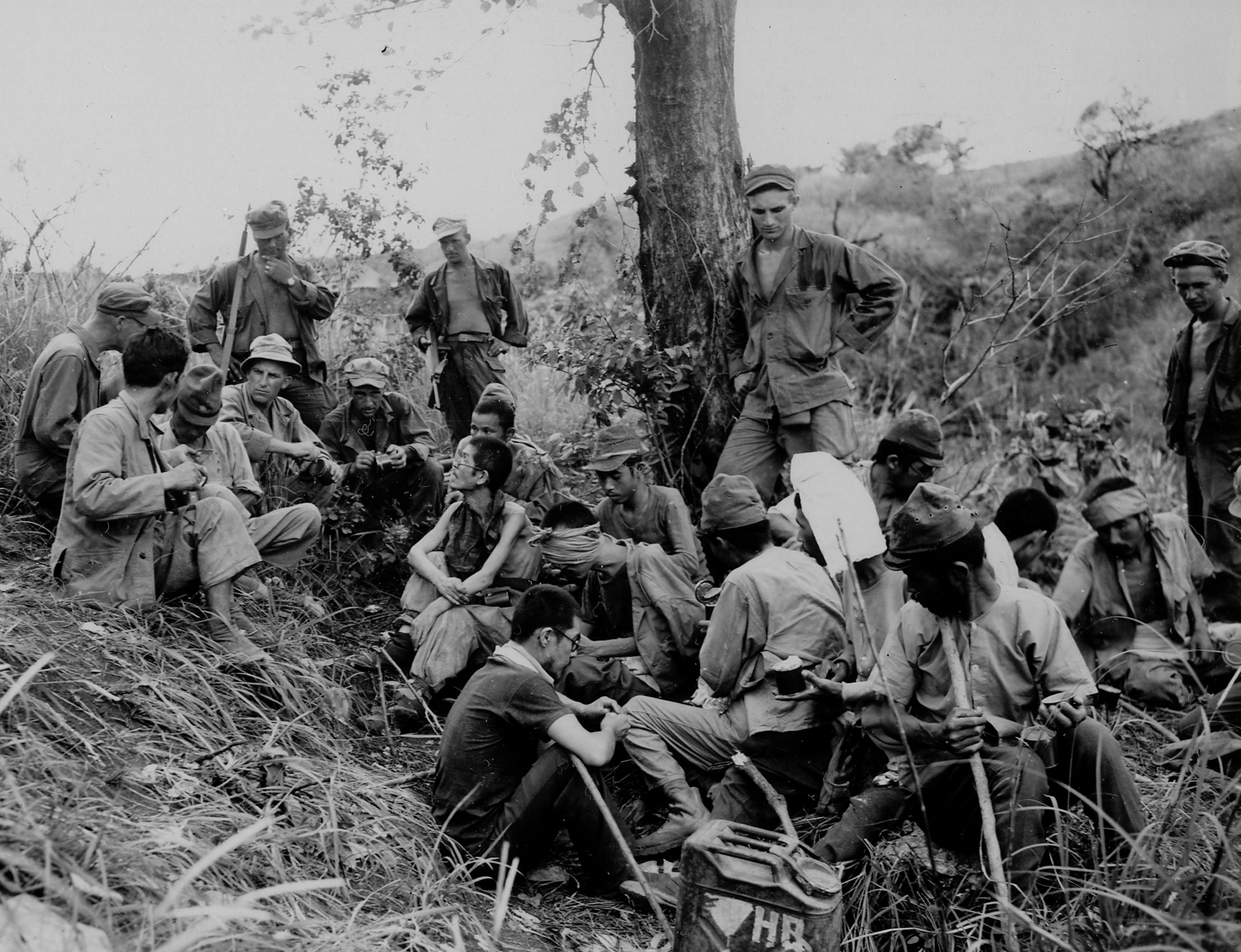 43rd inf div 103rd inf regt Ipo Dam Area Luzon Philippines 051845 (1 of 1)